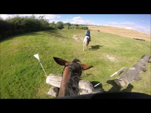 JUMP SCHOOL WITH ME - XC jumping at Aylesford with Fiona Davidson (GoPro HeadCam)