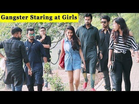 Gangster Staring At Girls Prank || Prank In India || Funday Pranks Ft. TCI