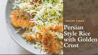 How to Make Persian-Style Rice with Golden Crust with Cook's Illustrated Editor Annie Petito