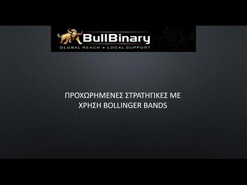 BullBinary Greek Webinar: Προχωρημένες Στρατηγικές με χρήση Bollinger Bands 23/03/2016