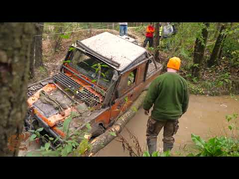 Land Rover Defender 90 off road 4X4 44 ed Pomerania
