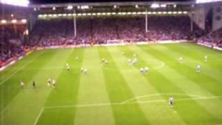Sheffield United scoring to 1-0 against Wednesday 18.09.2009