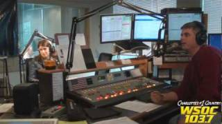 "103.7 WSOC: Danny Gokey Interview with ""Charlie & Debbie Show!"""
