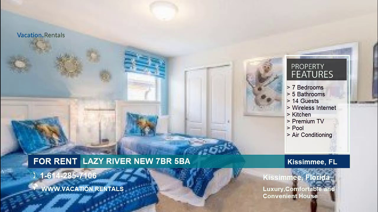 LAZY RIVER NEW 7BR 5BA - 14