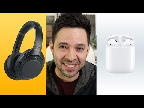 AirPods vs Noise Canceling Sony 1000XM3s