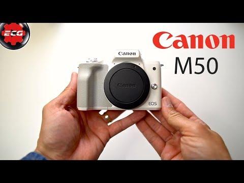 Canon EOS M50 + adaptador EF-M