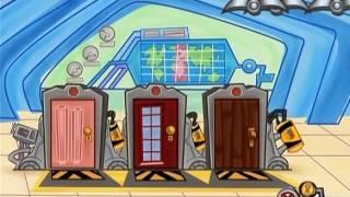 Monsters Inc DVD: Peek-A-Boo Game