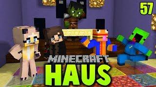 3:00 UHR NACHTS AUF DER MONSTER PARTY! ✿ Minecraft HAUS #57 [Deutsch/HD]