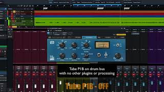 PreSonus Fat Channel Plug-in Demo: Tube P1B