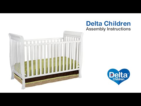 Delta Children Charleston & Glenwood 3-in-1 Crib Assembly Video