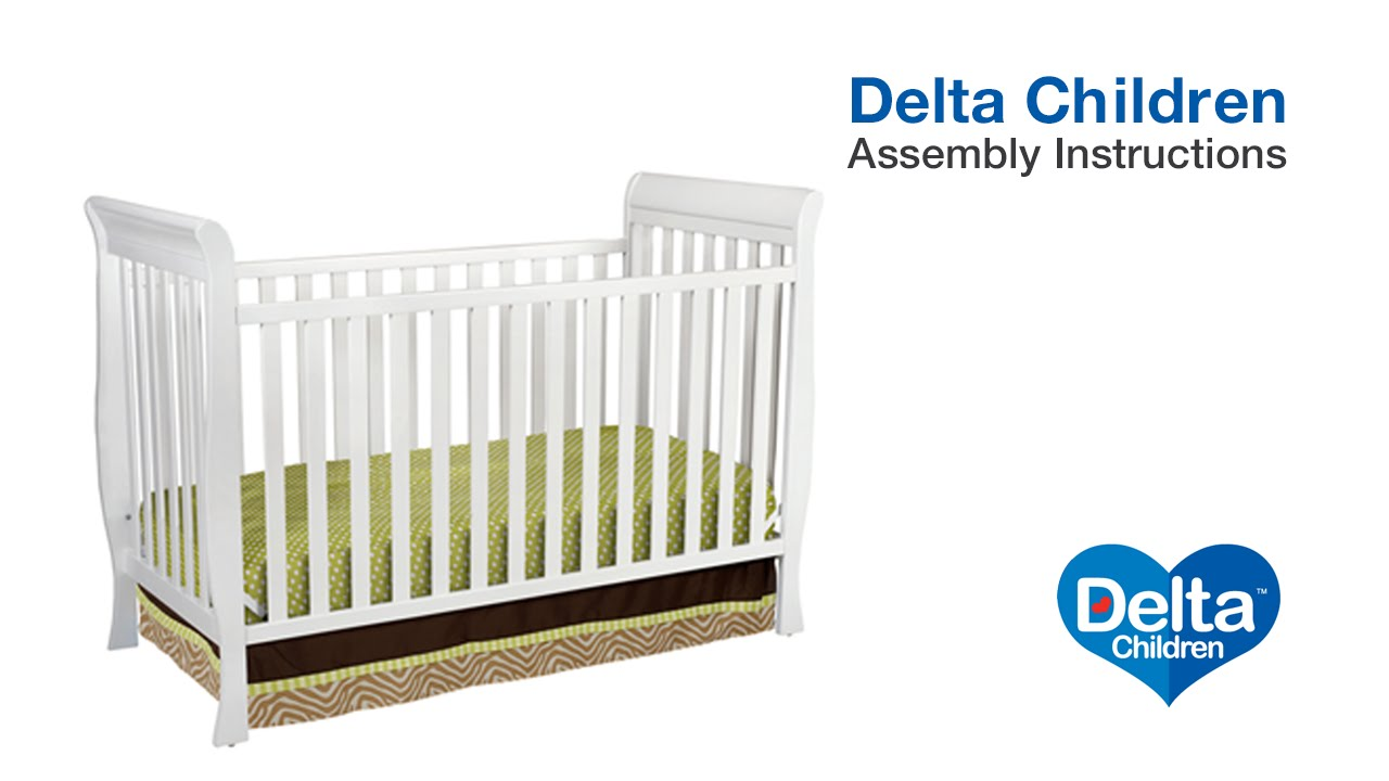 Delta Children Charleston Glenwood 3 In 1 Crib Embly Video