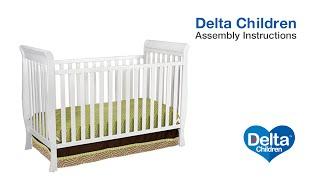 Delta Children Charleston & Glenwood 3-in-1 Crib Assembly Video