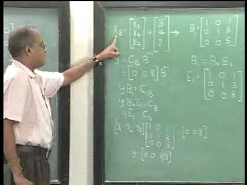 Lec-2 Revised Simplex Algorithm