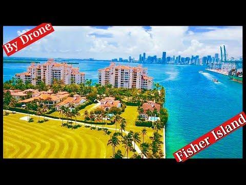 Miami Beach Fisher Island 2018 By Drone