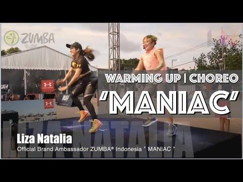 "Maniac | Zumba® | Warm Up "" Liza Natalia Official Brand Ambassador Zumba® Indonesia"