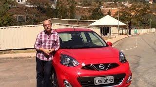 Nissan March 1.6 SL CVT - Teste com Emilio Camanzi