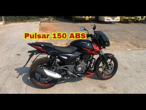 Bajaj Pulsar 150 ABS 2019 Walkaround + Brake Test+Price + Mileage in Hindi