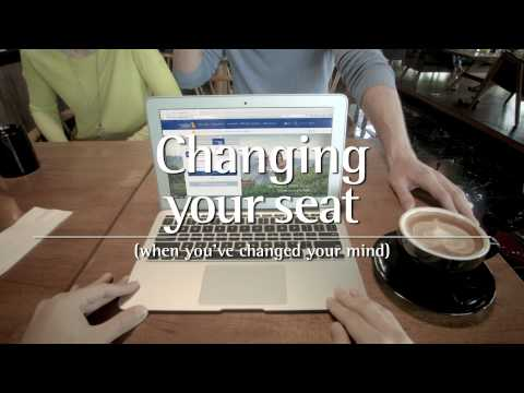 Changing Seats After Booking on singaporeair.com | Singapore Airlines