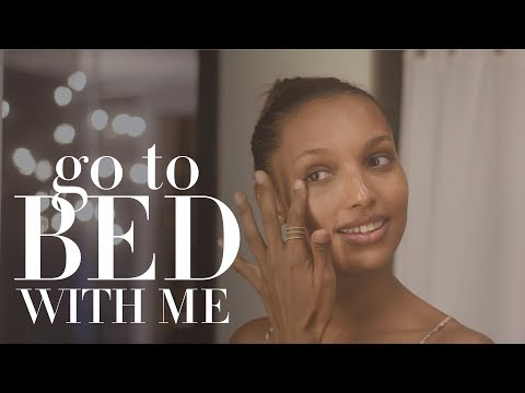 Victoria's Secret Angel Jasmine Tookes' Nighttime Routine | Go To Bed With Me | Harper's BAZAAR