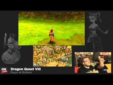 GK Live Dragon Quest VIII 3DS  Jeux vidéo par Gamekult
