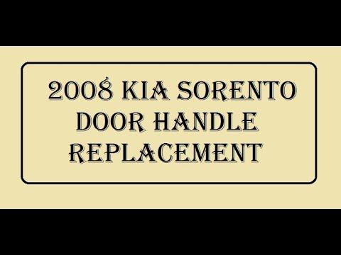 2008 Kia Sorento Door Handle Replacement