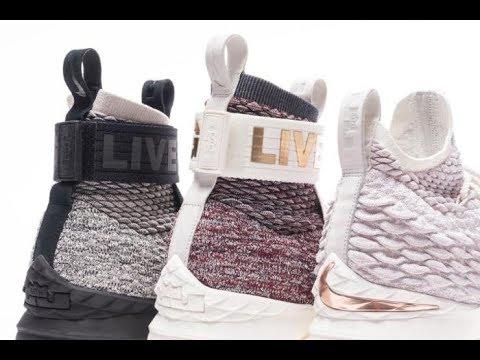 95f25536863 KITH Teases Long Live The King Nike LeBron 15 Collabs - YouTube