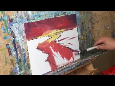 How To Paint a Sunset - Romanticism Style - Oil Painting by JOSE TRUJILLO
