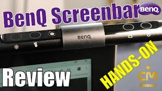 BenQ ScreenBar e-Reading lamp AR17: Test - Hands-on (Deutsch)