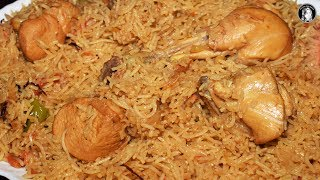 chicken pulao in pressure cooker