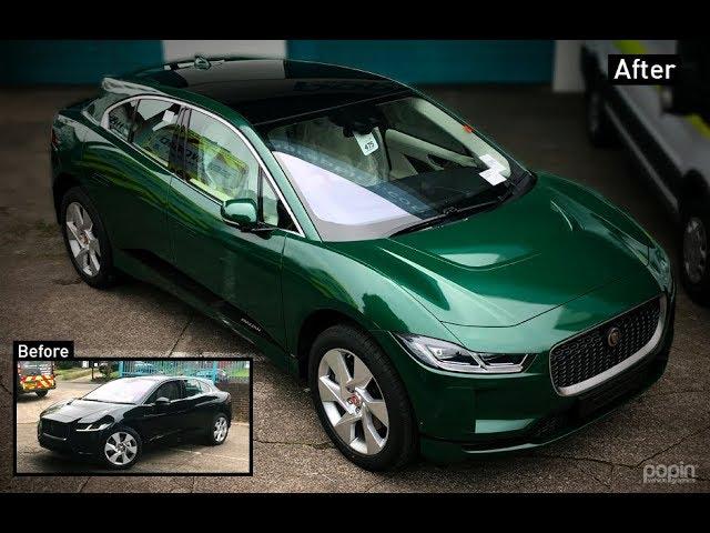 Jaguar I-Pace 3M™ 1380 Gloss Sapphire Green Metallic Colour Change