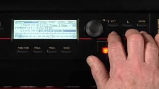 Корг Крос музична робоча станція -- відео керівництво частина 2 з 5 -- програми та комбінації