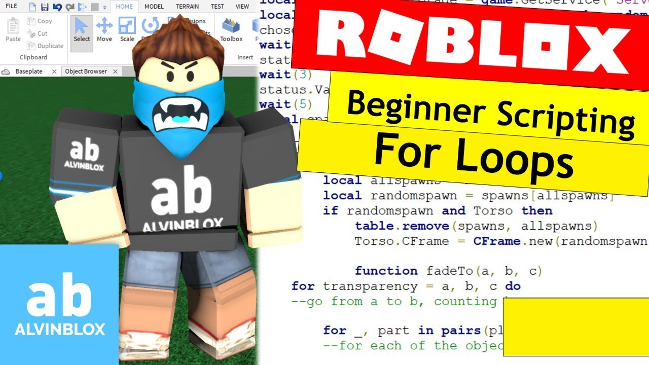 💻 How To Script On Roblox For Beginners - For Loops - Episode 8 - #ROBLOX