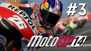 MotoGP 14 Walkthrough Part 3 - Career Mode AUSTIN TEXAS - PS4