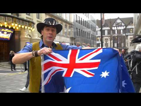 Australia Day - Terry's walkabout bloopers