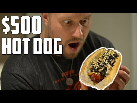$1 Hot Dog Vs. $500 Hot Dog