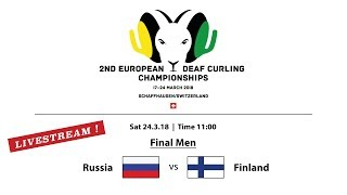 EC Deaf Curling 2018  |  Men Final RUS vs. FIN