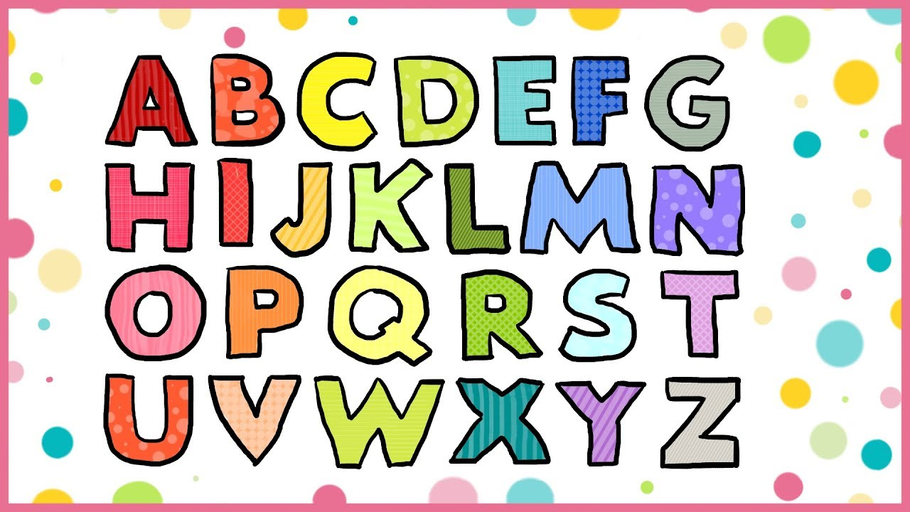 How to draw ALPHABET LETTERS - coloring pages for kids - LiLi