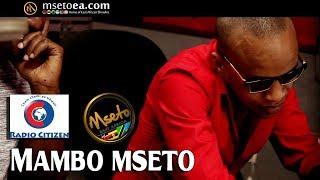 I Will Support JAGUAR, Declares PREZZO On Mambo Mseto With Mzazi Willy Tuva