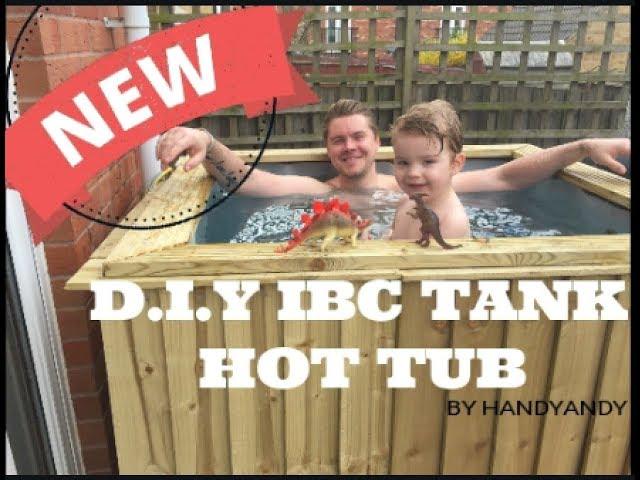 DIY IBC TANK HOT TUB