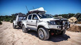 Aussie Arctic Hilux+Trailer