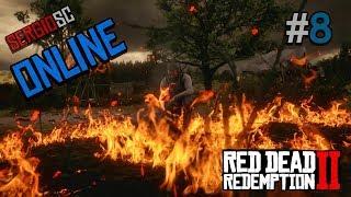 Red Dead Redemption 2 ONLINE #8 Directo Español - Nvl 24 Fuego en Linea
