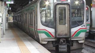仙山線E721系0番台快速仙台駅発車※発車メロディー「すずめ踊り 新Ver」あり