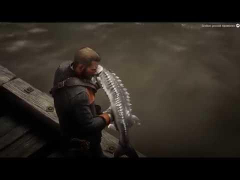 Легендарный Озерный Осетр Red Dead Redemption 2