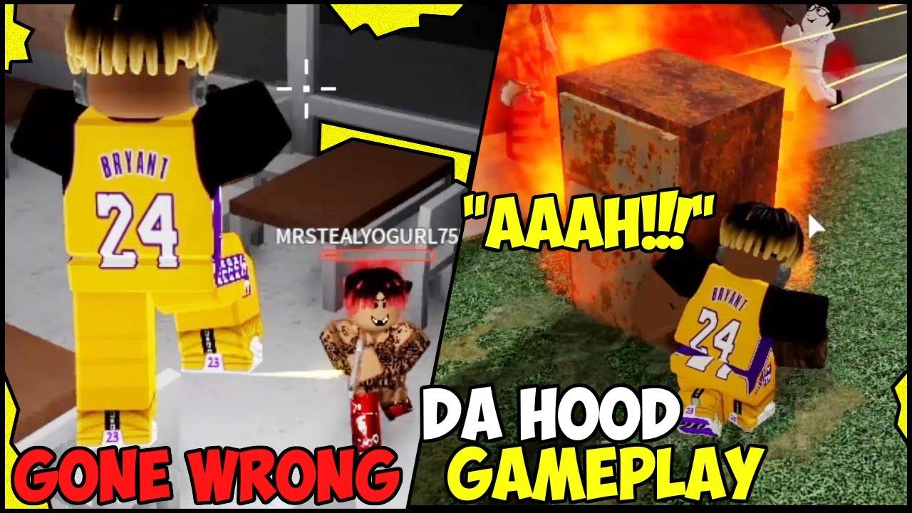 Download ROBBING IN DA HOOD GONE WRONG!!! (ROBLOX) 🔥🔥🔥