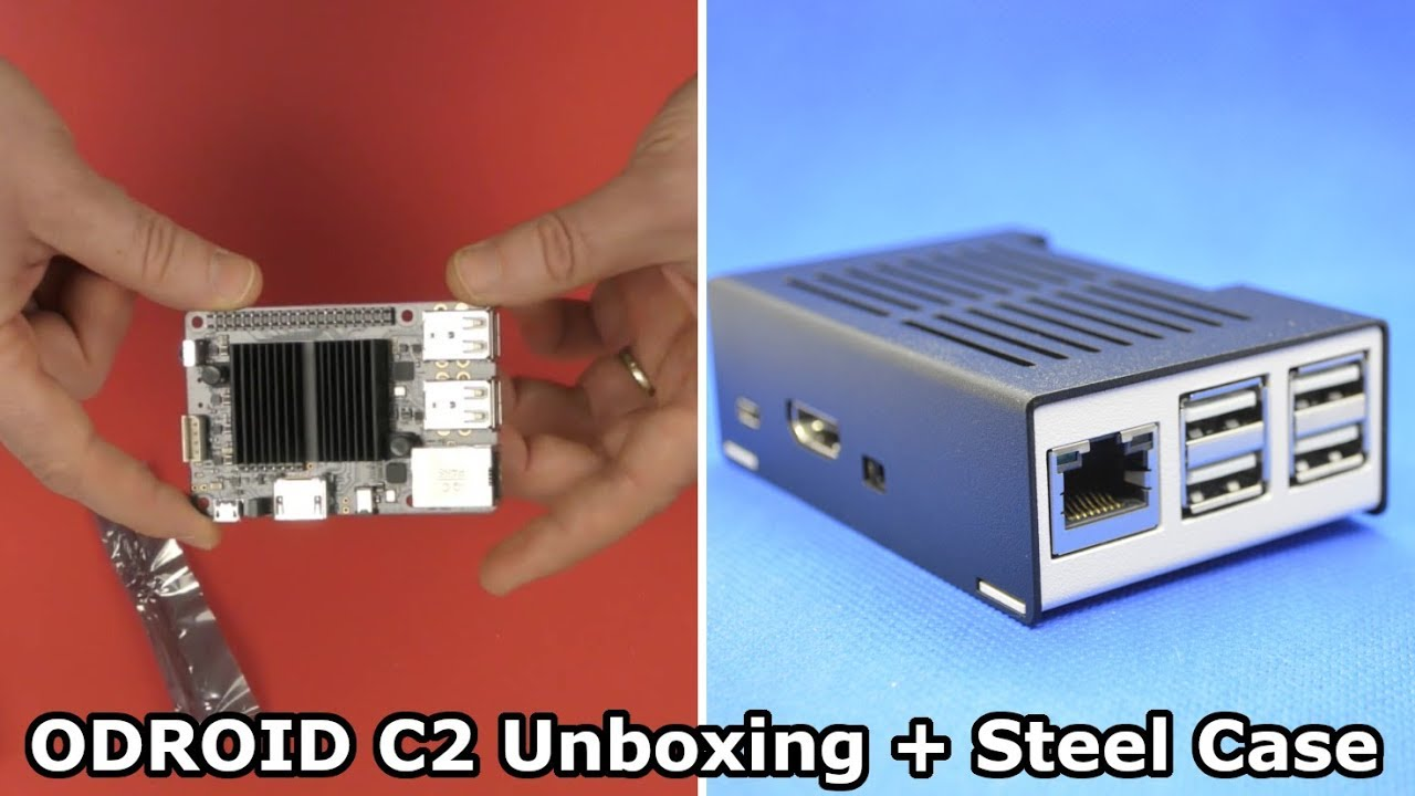 Category5 Technology TV (Clips) - Unboxing ODROID-C2 and KKSB Steel Case