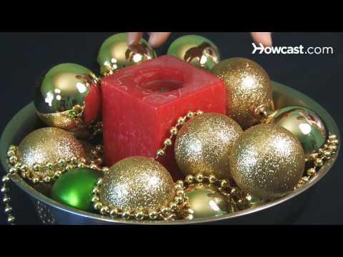 How to Make Christmas Centerpieces