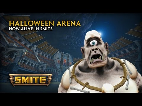 SMITE Machini-mini - Denton's Halloween (Part 1 - Arena Reveal)