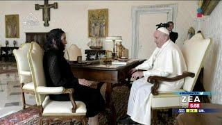 Beatriz Gutiérrez Müller entrega carta de López Obrador al Papa Francisco | Noticias con Paco Zea