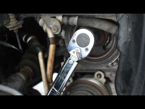 [HD 1080p] How to Replace Mazda 3 Serpentine & AC Drive Belts