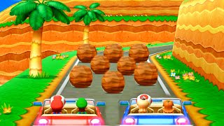 Mario Party The Top 100 - Minigame Island - Play Again to Collect Stars| Cartoons Mee